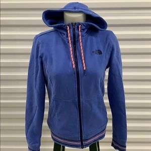 The North Face zippered hoodie